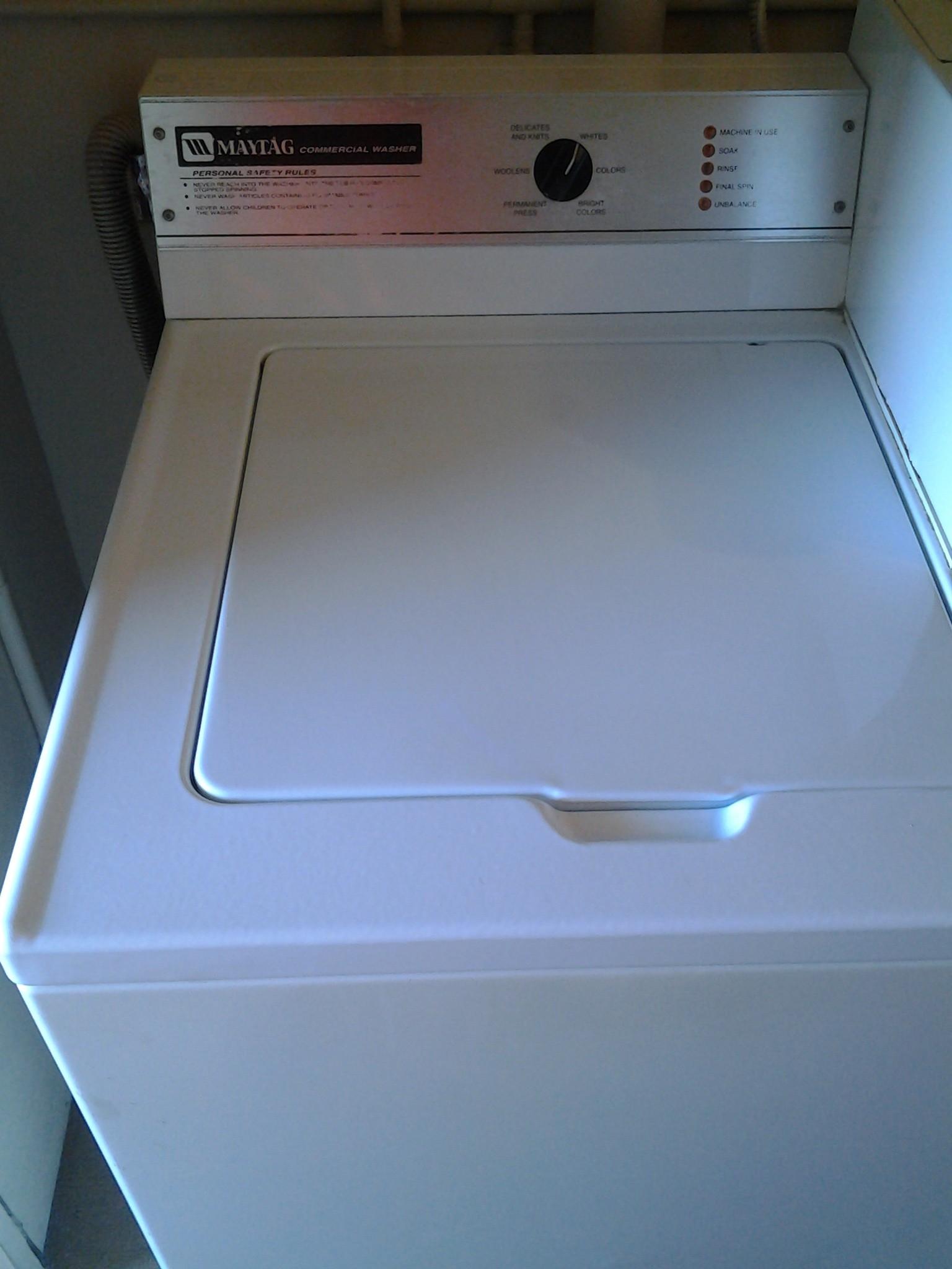 washing machine problem